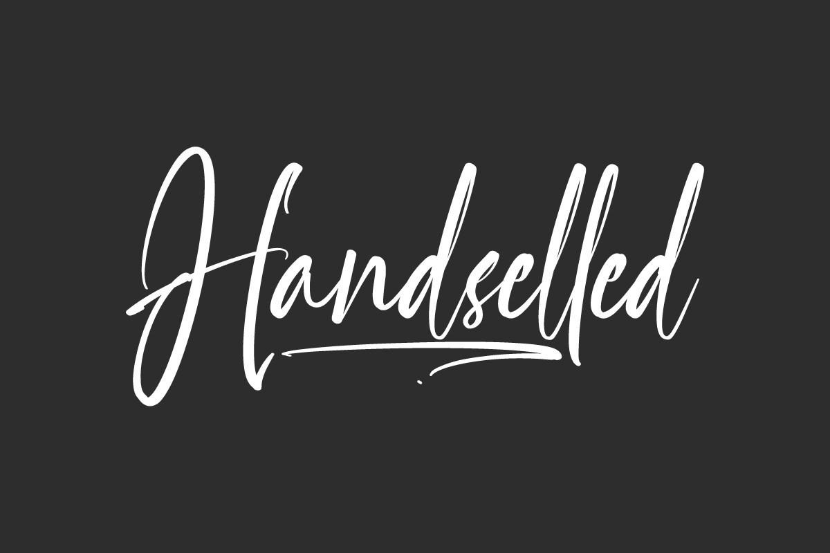 Handselled-Font