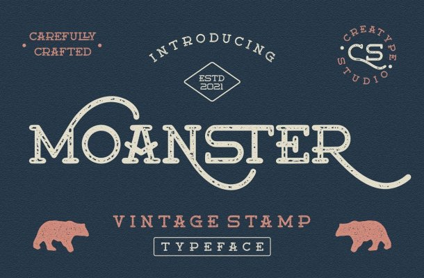 Moanster Font