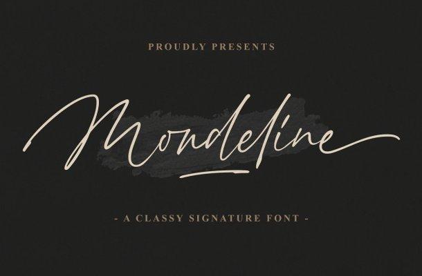 Mondeline Font