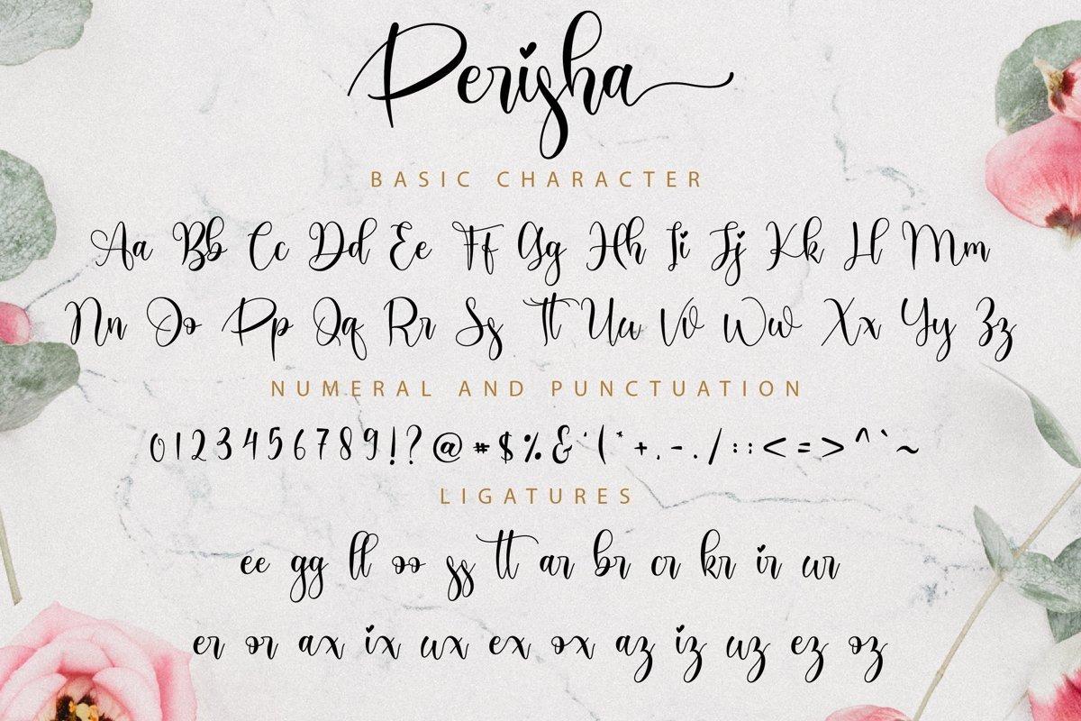 Perisha-Font-3