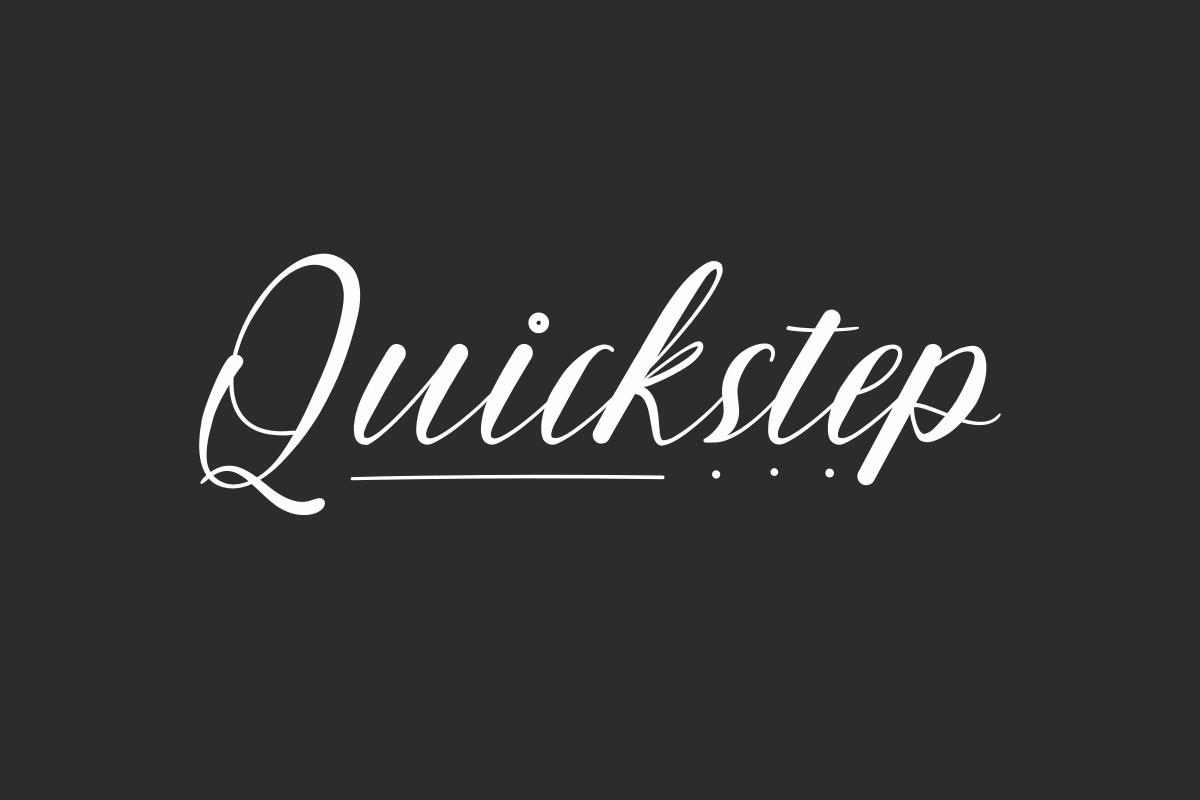 Quickstep-Font