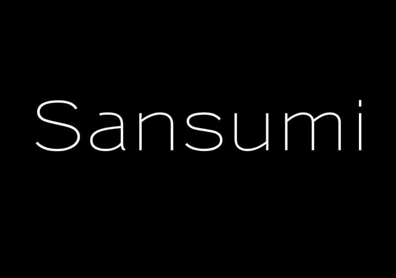 Sansumi-Font