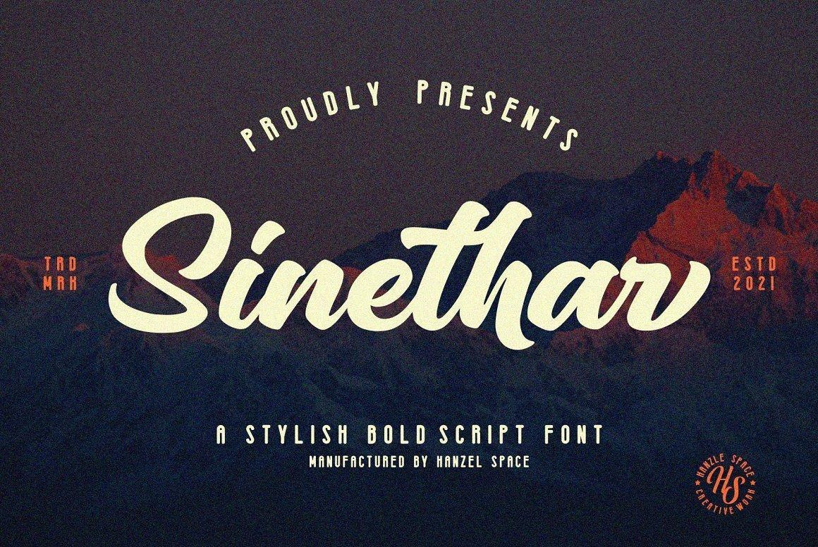 Sinethar-Font