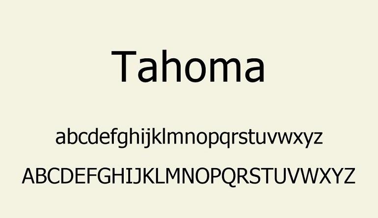Tahoma-Font-2