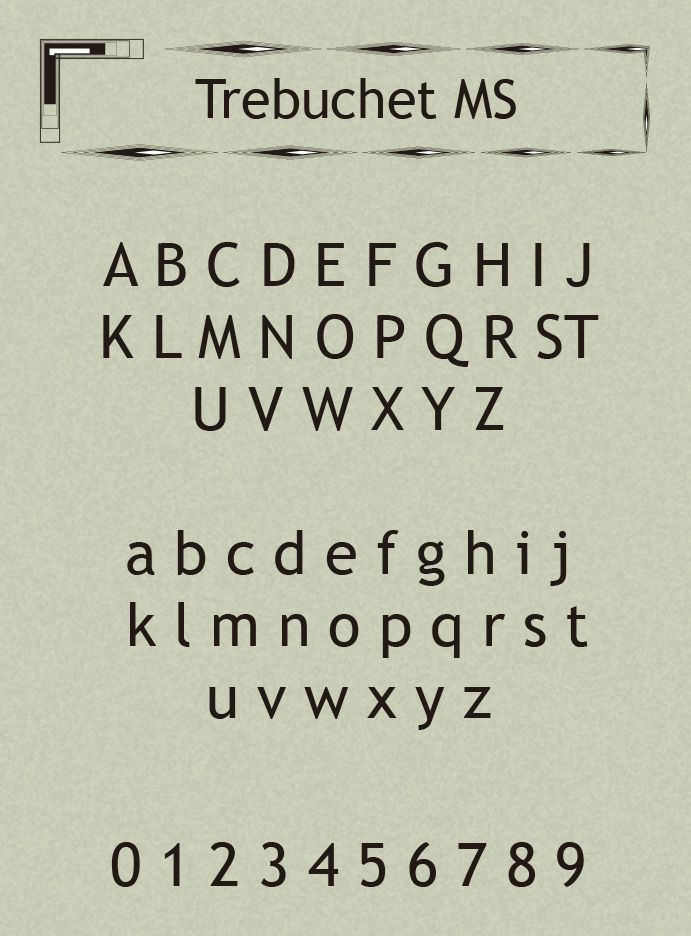 Trebuchet-MS-Font-2