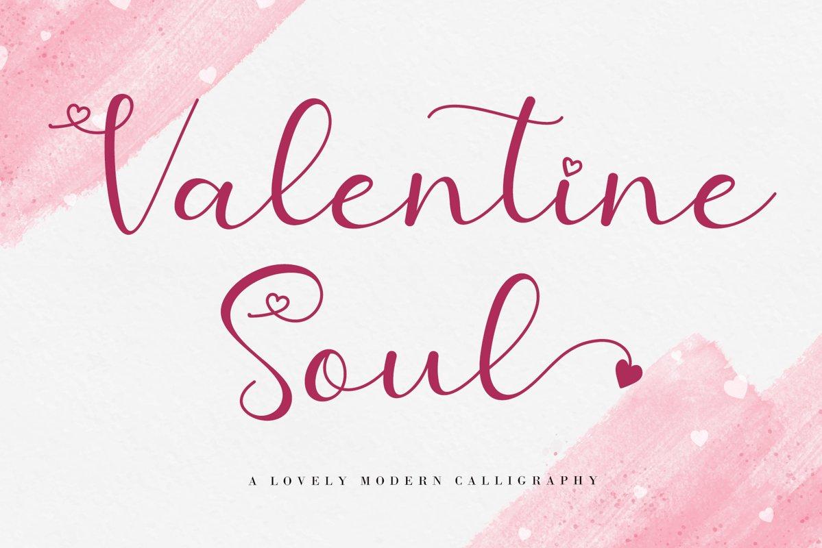 Valentine-Soul-Font