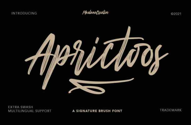 Aprictoos-Font