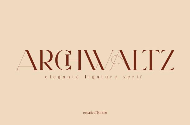 Archwaltz Font