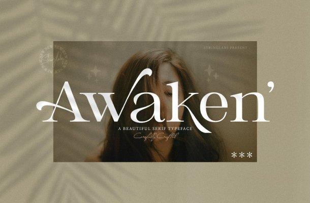 Awaken-Font