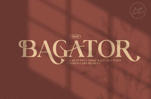 Bagator-Font