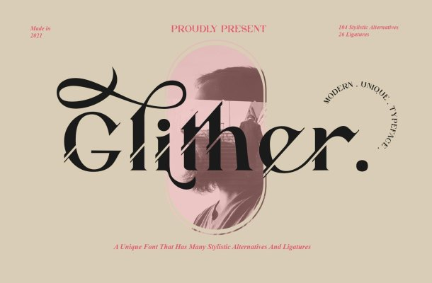Glither Font
