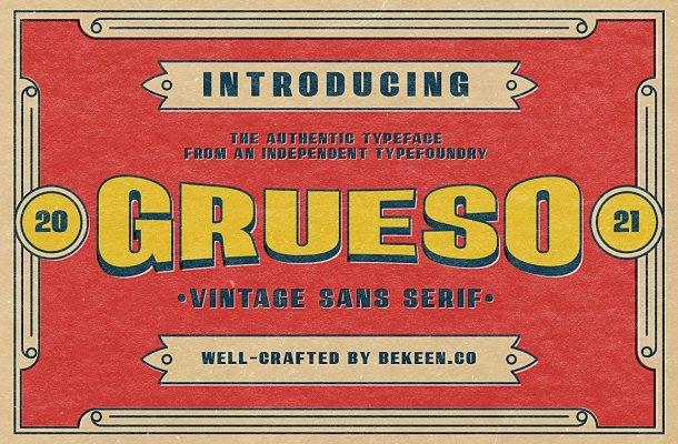 Grueso-Font