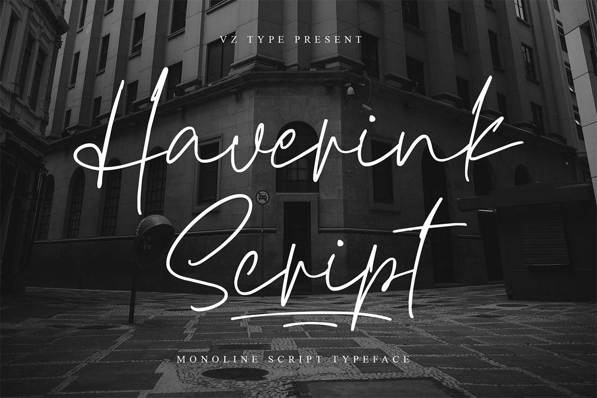 Haverink-Font