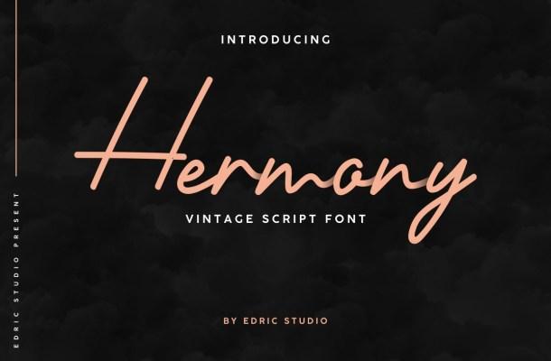 Hermony-Font