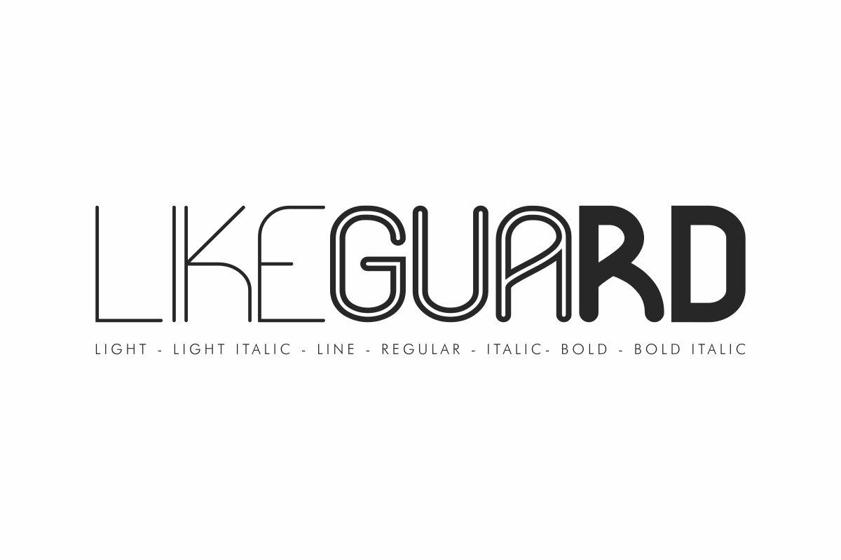 Likeguard-Font