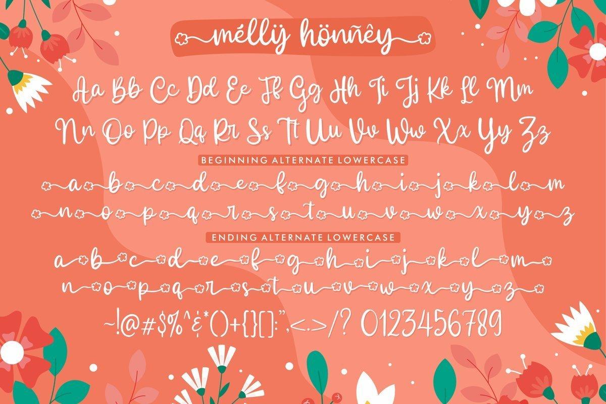 Melly-Honney-Font-3