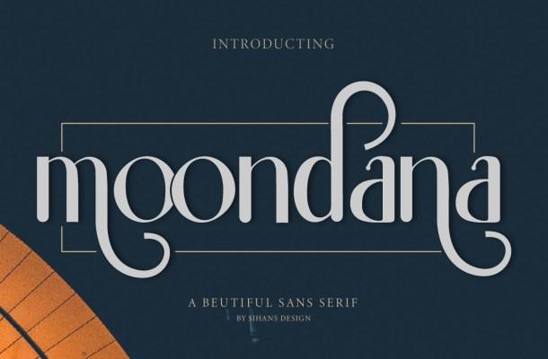 Moondana Font