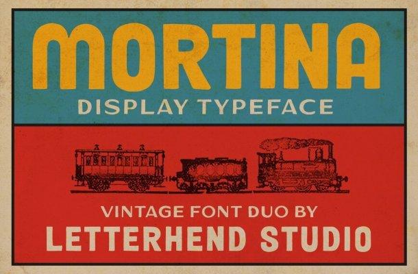 Mortina Font