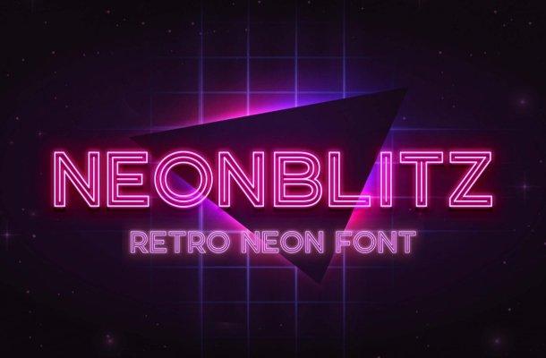Neonblitz-Font