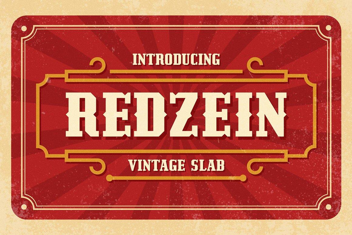 Redzein-Font