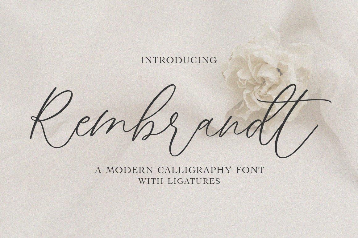 Rembrandt-Font