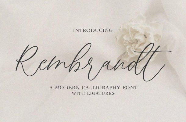 Rembrandt Font