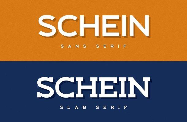 Schein-Font