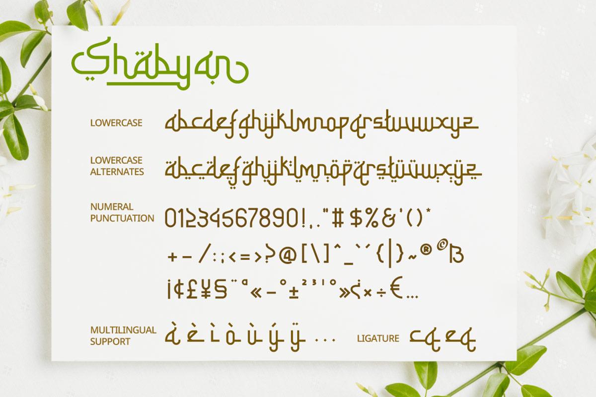 Shabyan-Font-3