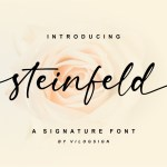 Steinfeld Font
