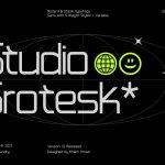Studio Grotesk Font