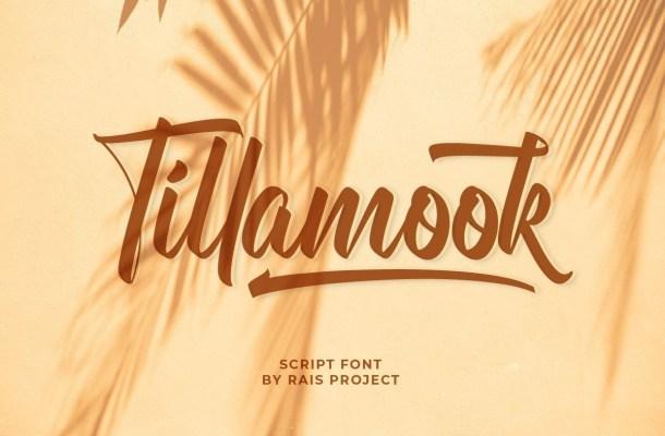 Tillamook-Font