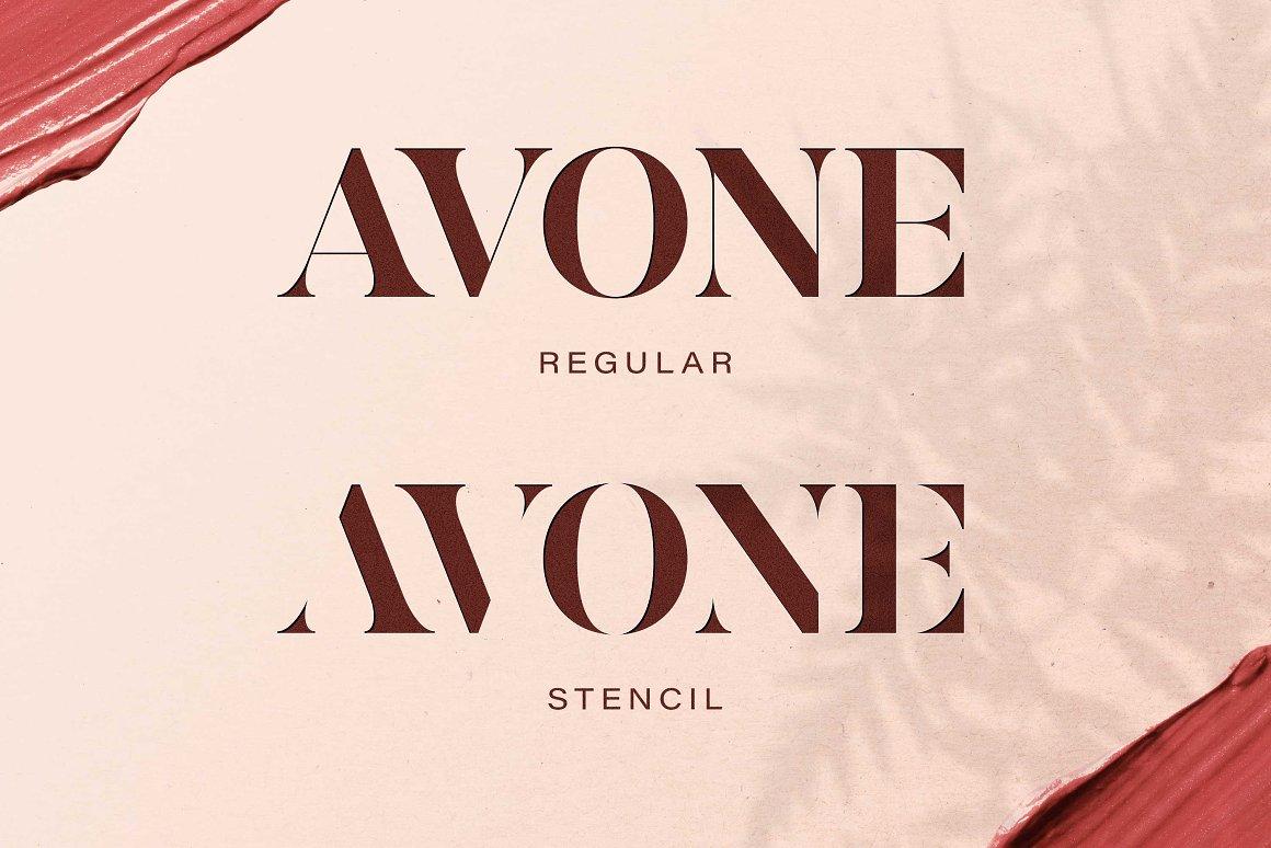 AVONE-Font-2