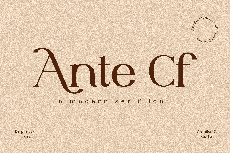 Ante-Cf-Font