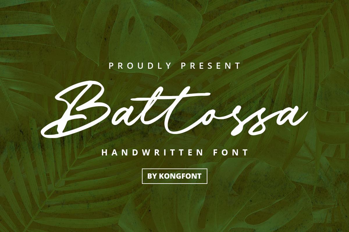Battossa-Font
