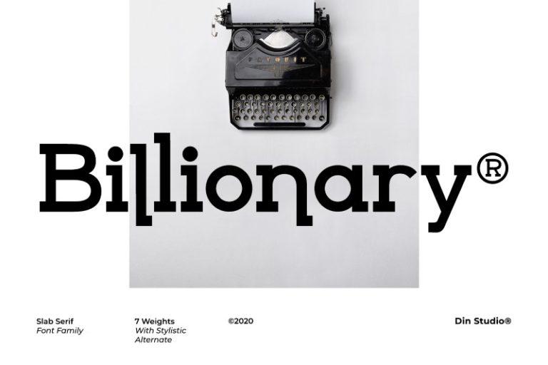 Billionary-Font