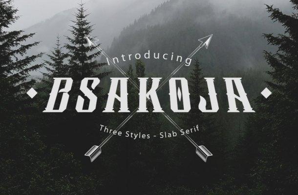 Bsakoja-Font