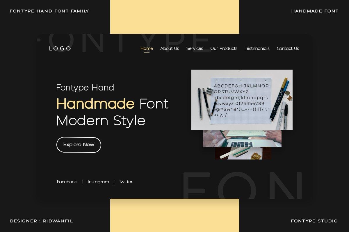 Fontype-Hand-Font-3