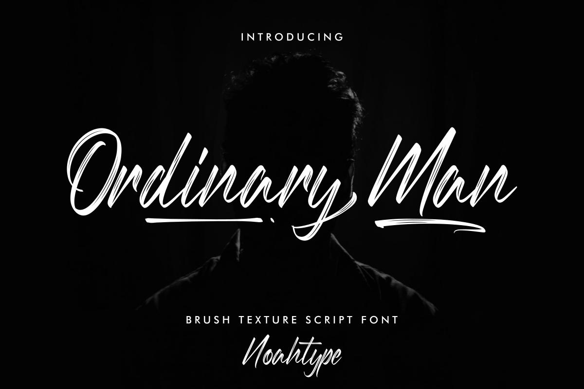 Ordinary-Man-Font