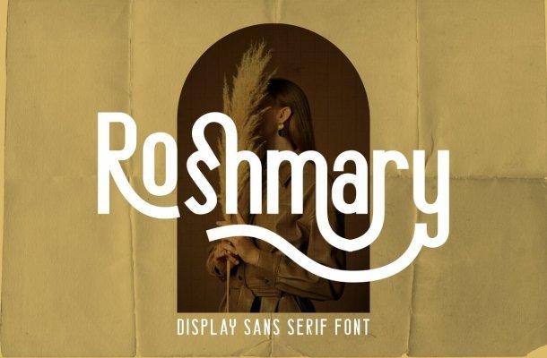 Roshmary Font