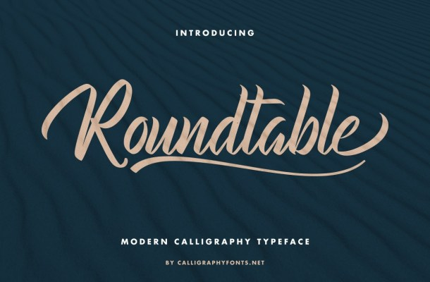 Roundtable-Font
