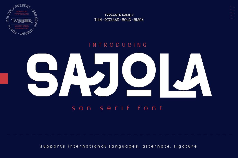 Sajola-Font