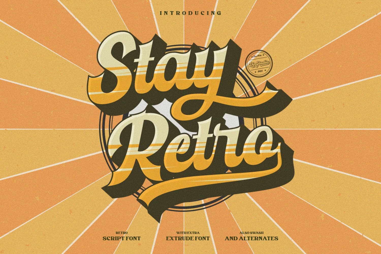 Stay-Retro-Font