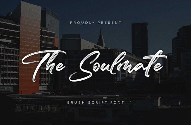 The-Soulmate-Font
