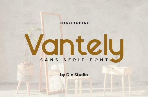 Vantely-Font