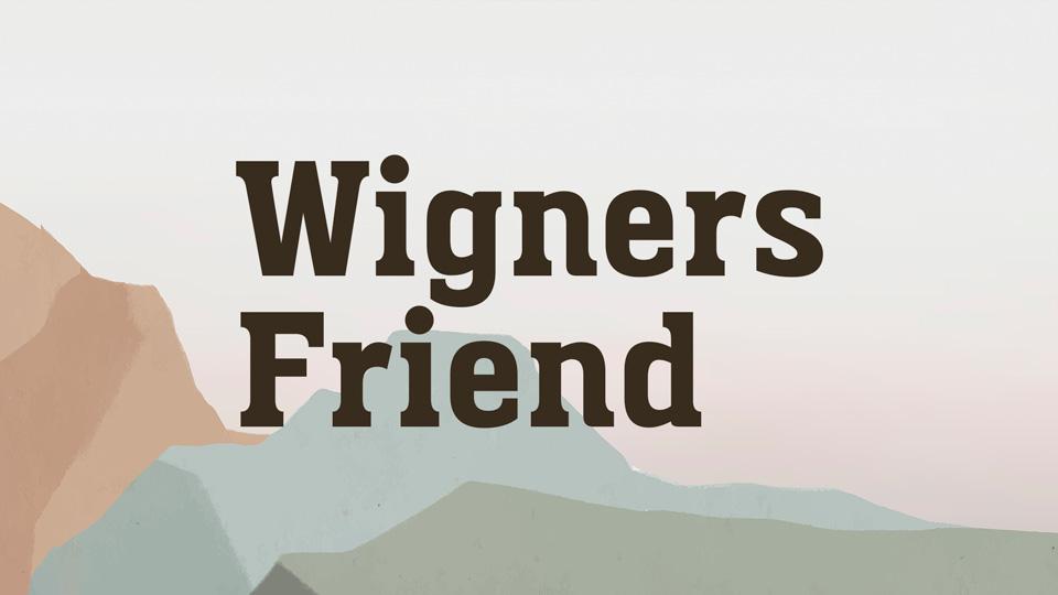 Wigners-Friend-Font