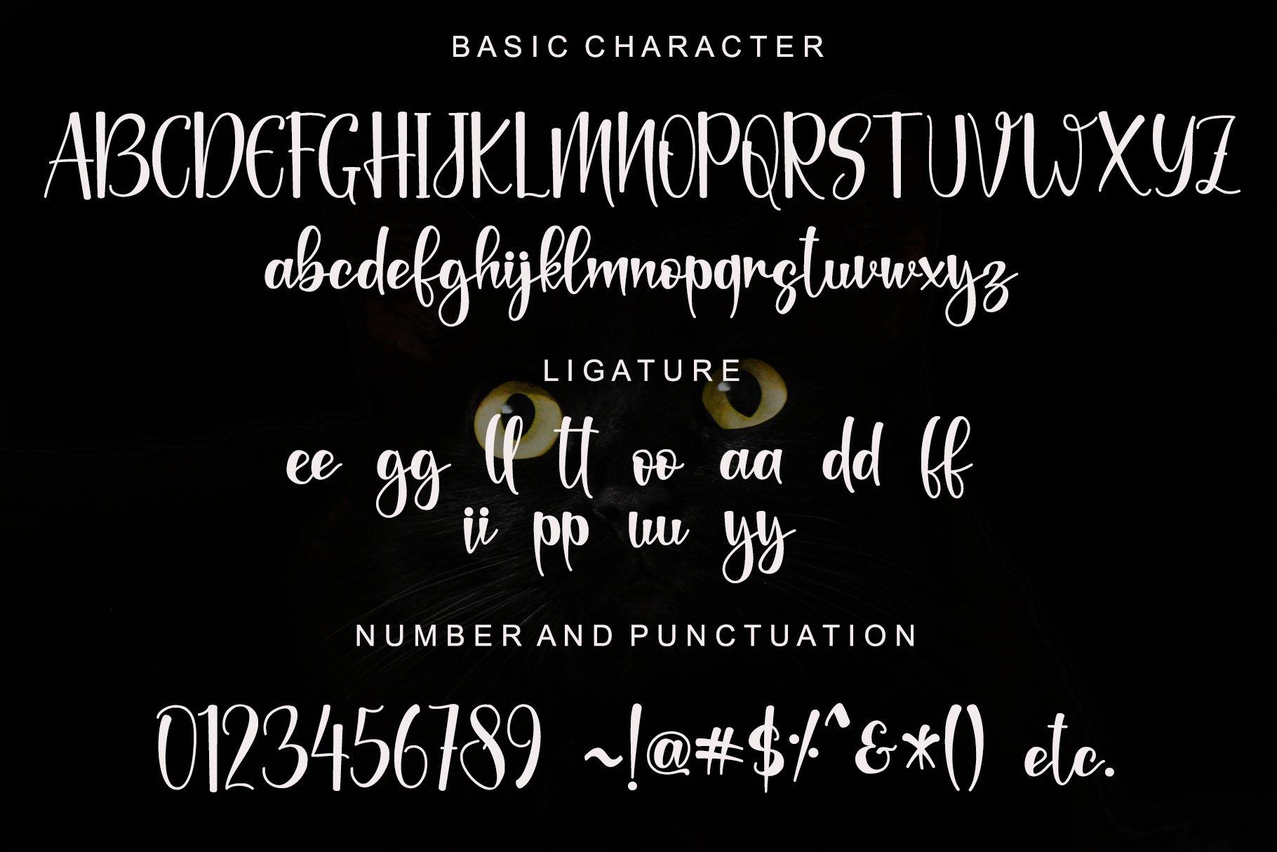 Black-Catthie-Font-3