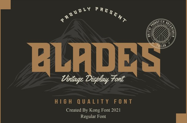 Blades-Font