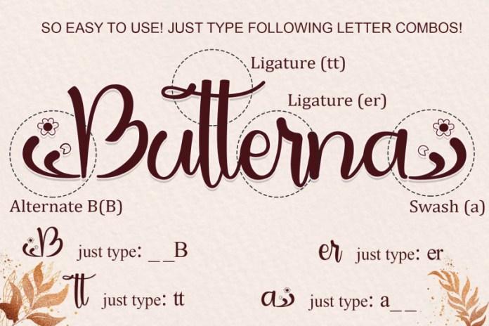 Butterna-Font-3