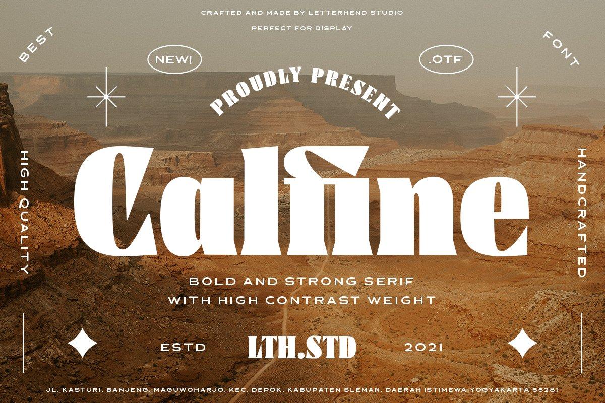 Calfine-Font