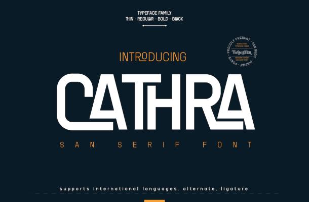 Cathra-Font